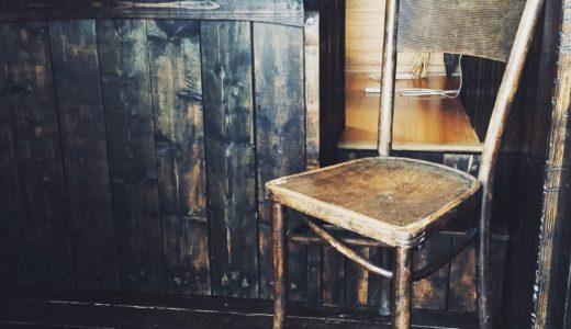 アンティークの椅子。