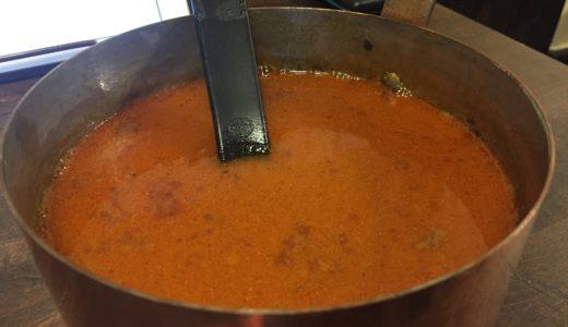 秋の新メニューその1「スープ・ド・ポワソン(魚・の・スープ)」
