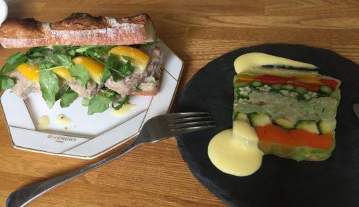 当店のお惣菜を朝食仕様にリメイクしてみました。